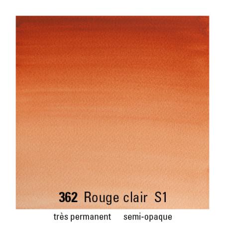 WINSOR&NEWTON AQUARELLE 1/2 GODET S1 362 ROUGE ANGLAIS