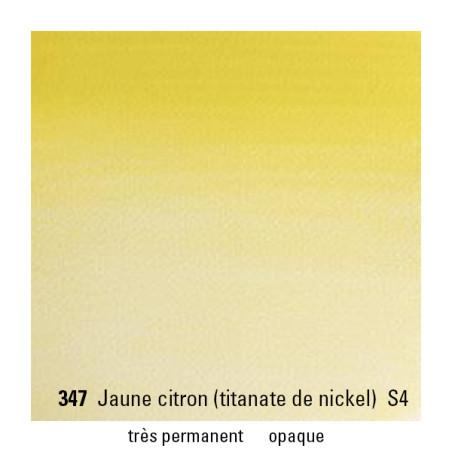 WINSOR&NEWTON AQUARELLE 1/2 GODET S4 347 JAUNE CITRON