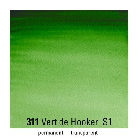 WINSOR&NEWTON AQUARELLE 1/2 GODET S1 311 VERT HOOKER