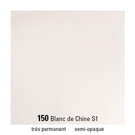 WINSOR&NEWTON AQUARELLE 1/2 GODET S1 150 BLANC CHINE