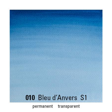 WINSOR&NEWTON AQUARELLE 1/2 GODET S1 010 BLEU ANVERS