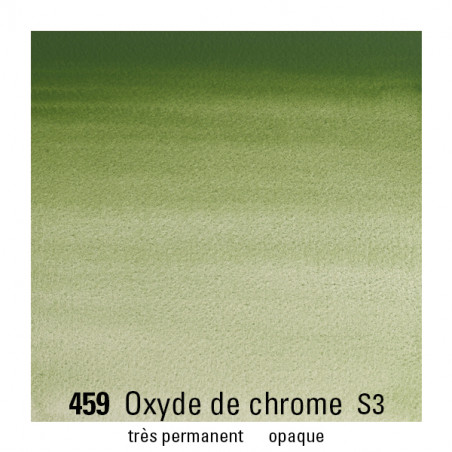 WINSOR&NEWTON AQUARELLE 14ML S3 459 OXYDE DE CHROME