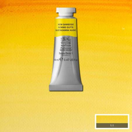 WINSOR&NEWTON AQUARELLE 14ML S1 267 GOMME GUTTE