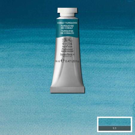 WINSOR&NEWTON AQUARELLE 14ML S4 190 TURQUOISE COBALT