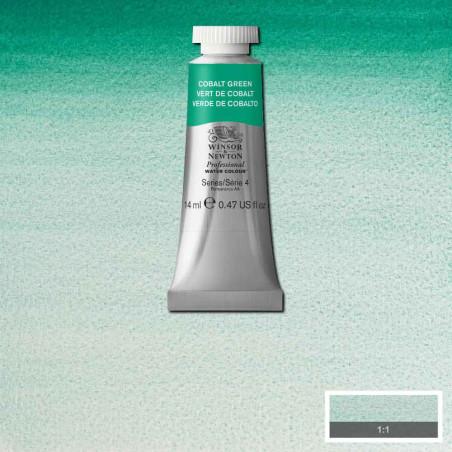 WINSOR&NEWTON AQUARELLE 14ML S4 184 VERT DE COBALT