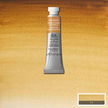 WINSOR&NEWTON AQUARELLE 5ML S1 554 TERRE OMBRE NATURELLE
