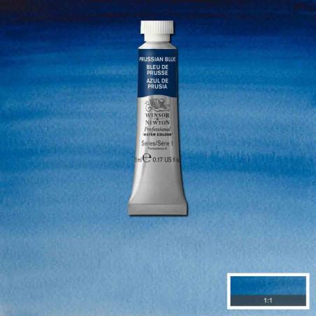 WINSOR&NEWTON AQUARELLE 5ML S1 538 BLEU DE PRUSSE