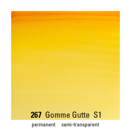 WINSOR&NEWTON AQUARELLE 5ML S1 267 GOMME GUTTE
