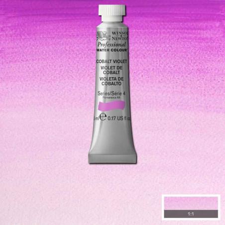 WINSOR&NEWTON AQUARELLE 5ML S4 192 VIOLET DE COBALT