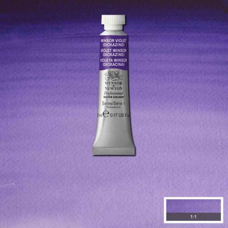 WINSOR&NEWTON AQUARELLE 5ML S1 733 WINSOR VIOLET