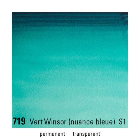 WINSOR&NEWTON AQUARELLE GODET S1 719 VERT BL WINSOR