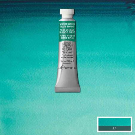 WINSOR&NEWTON AQUARELLE 5ML S1 719 VERT WINSOR
