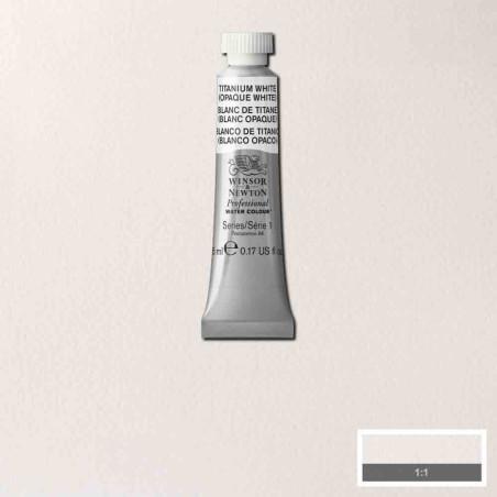 WINSOR&NEWTON AQUARELLE 5ML S1 644 BLANC DE TITANE