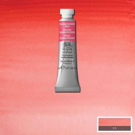 WINSOR&NEWTON AQUARELLE 5ML S3 548 ROUGE QUINACHRIDONE