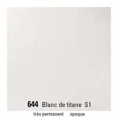WINSOR&NEWTON AQUARELLE GODET S1 644 BLANC TITANE
