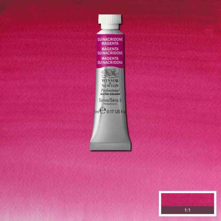 WINSOR&NEWTON AQUARELLE 5ML S3 545 MAGENTA QUINACRIDONE