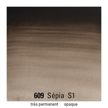 WINSOR&NEWTON AQUARELLE GODET S1 609 SEPIA