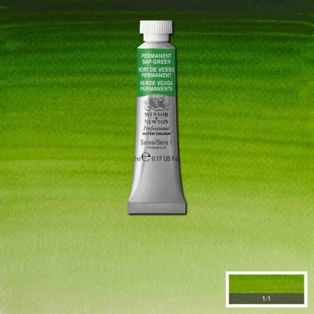 WINSOR&NEWTON AQUARELLE 5ML S1 503 VERT DE VESSIE PERM