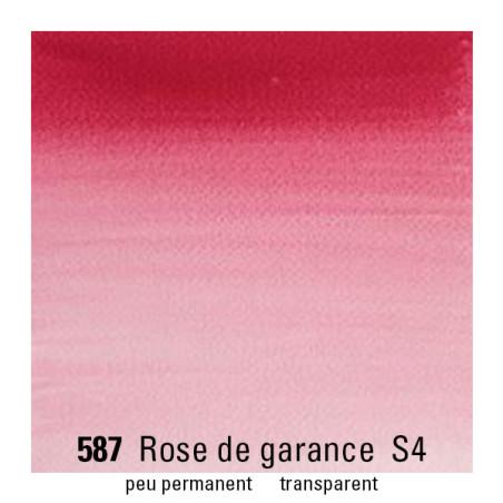 WINSOR&NEWTON AQUARELLE GODET S4 587 ROSE GARANCE VERIT