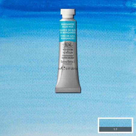 WINSOR&NEWTON AQUARELLE 5ML S2 379 NUANCE BLEU MANGANESE