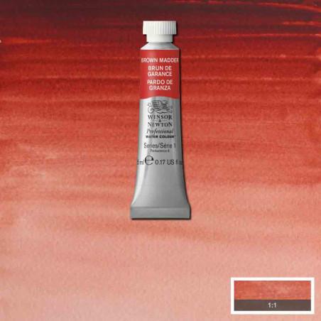 WINSOR&NEWTON AQUARELLE 5ML S1 056 GARANCE BRUNE