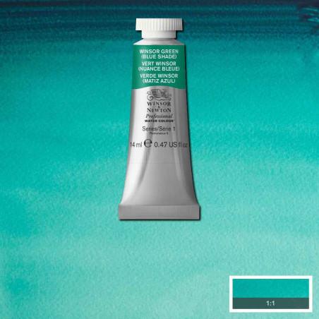 WINSOR&NEWTON AQUARELLE 14ML S1 719 VERT WINSOR