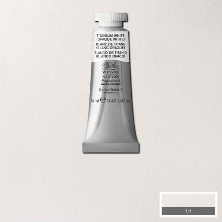 WINSOR&NEWTON AQUARELLE 14ML S1 644 BLANC DE TITANE