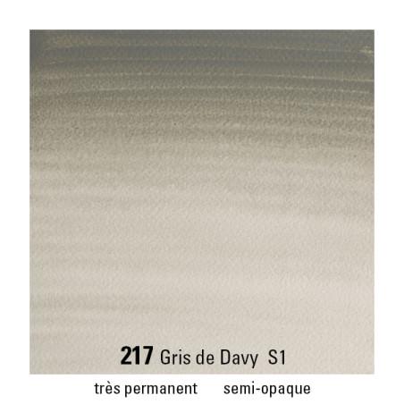 WINSOR&NEWTON AQUARELLE GODET S1 217 GRIS DAVY