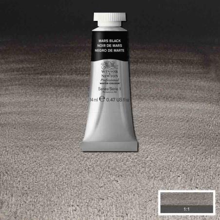 WINSOR&NEWTON AQUARELLE 14ML S1 386 NOIR DE MARS