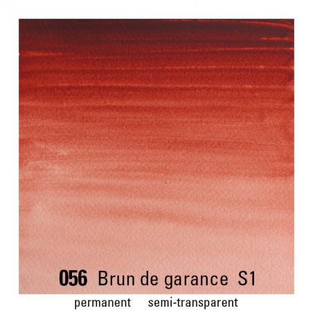 WINSOR&NEWTON AQUARELLE GODET S1 056 GAR BRUNE / A EFFACER --------