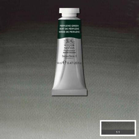 WINSOR&NEWTON AQUARELLE 14ML S2 460 VERT PERYLENE