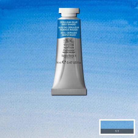 WINSOR&NEWTON AQUARELLE 14ML S3 140 BLEU DE CERULEUM