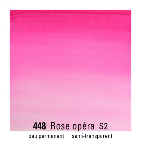 WINSOR&NEWTON AQUARELLE 14ML S2 448 ROSE OPERA