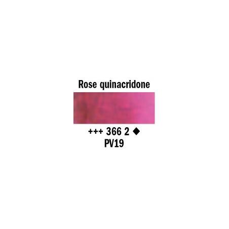 REMBRANDT AQUARELLE 1/2 GODET S2 366 ROSE QUINACRIDONE