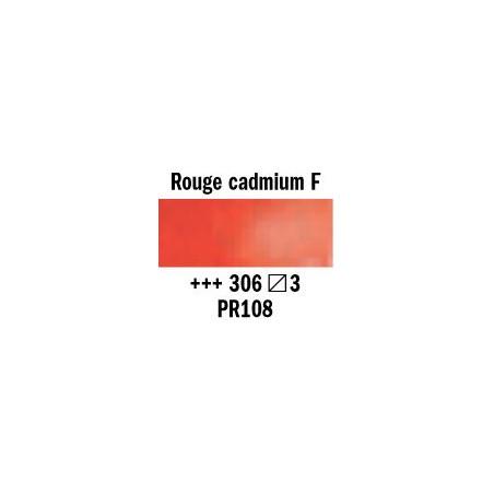 REMBRANDT AQUARELLE 1/2 GODET S3 306 ROUGE CAD.FONCE