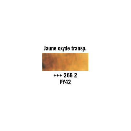 REMBRANDT AQUARELLE 1/2 GODET S2 265 JAUNE OXID TRANSP.