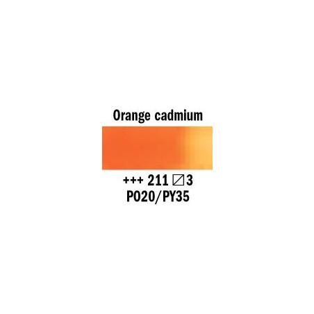 REMBRANDT AQUARELLE 1/2 GODET S3  211 ORANGE CADMIUM