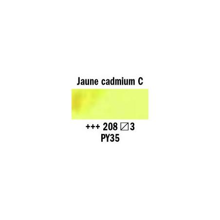 REMBRANDT AQUARELLE 1/2 GODET S3 208 JAUNE CAD.CLAIR