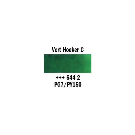 REMBRANDT AQUARELLE 1/2 GODET S2  644 VERT HOOKER CLAIR