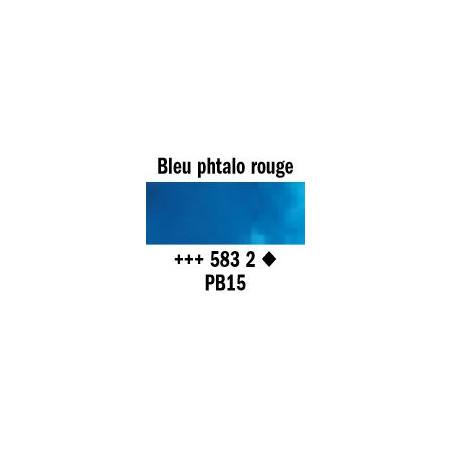 REMBRANDT AQUARELLE 1/2 GODET S2 583 BLEU PHTALO ROUGE