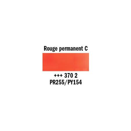 REMBRANDT AQUARELLE 1/2 GODET S2 370 ROUGE PERM.CLAIR