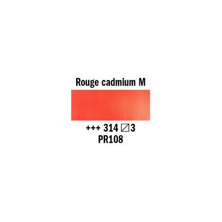 REMBRANDT AQUARELLE 1/2 GODET S3 314 ROUGE CAD.MOYEN