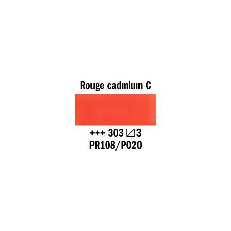 REMBRANDT AQUARELLE 1/2 GODET S3 303 ROUGE CAD.CLAIR