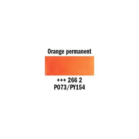 REMBRANDT AQUARELLE 1/2 GODET S2 266 ORANGE PERM.