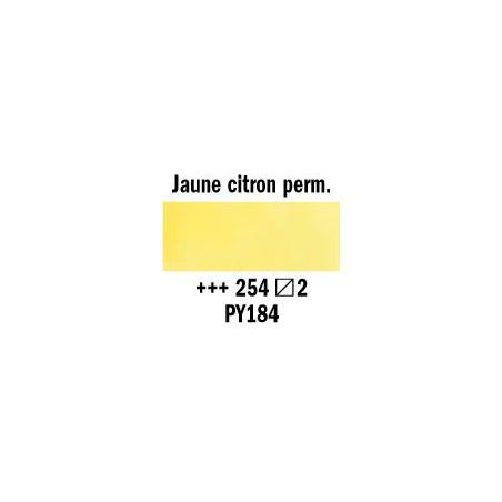 REMBRANDT AQUARELLE 1/2 GODET S2 254 JAUNE CITRON PERM.