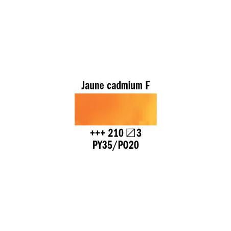 REMBRANDT AQUARELLE 1/2 GODET S3 210 JAUNE CAD. FONCE
