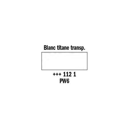 REMBRANDT AQUARELLE 1/2 GODET S1 112 BLANC TITANE