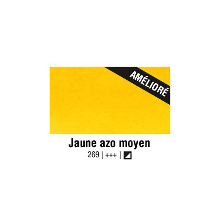 VAN GOGH AQUARELLE JAUNE AZO MOYEN 1/2 GODET