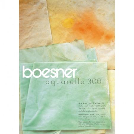 BOESNER AQUARELLE GRAIN MAT300GR 30X40 20F