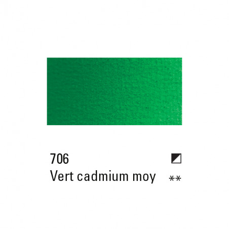 BOESNER HUILE 200ML 706 VERT DE CADMIUM MOYEN